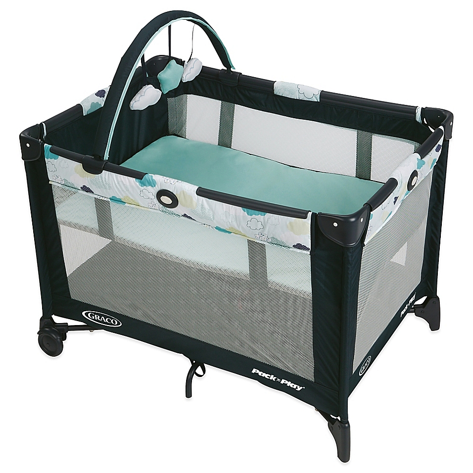 Graco® Pack 'n Play® On-the-Go Travel Playard in Stratus - buybuyBaby.com