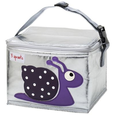 3 Sprouts Lunch Bag in Snail