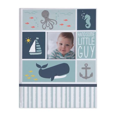 "Carter's® Under The Sea ""Handsome Little Guy"" Memory Book"