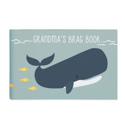 "Carter's® Under The Sea ""Grandma's Brag Book"" in Blue"