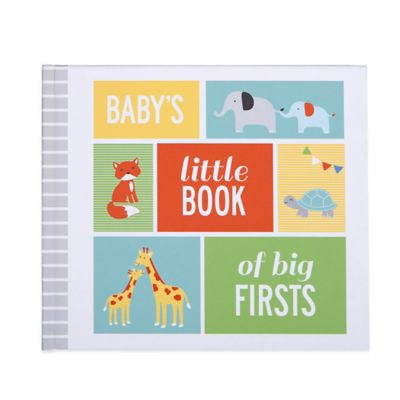 "Carter's® ""Baby's Little Book of Big Firsts"" Memory Book"