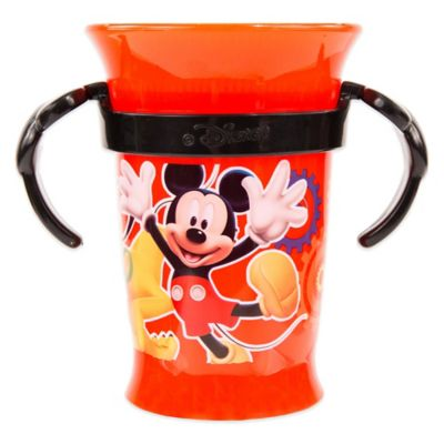 Sassy® Disney® Mickey Mouse 7 oz. Grow Up Cup™ in Red/Black