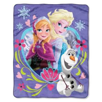 "Disney® ""Frozen"" ""Frolic"" Raschel Throw"
