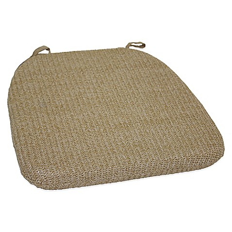 Buy Hermosa Chair Pad In Natural From Bed Bath Amp Beyond