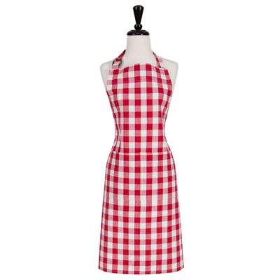 Gingham Apron Kitchen