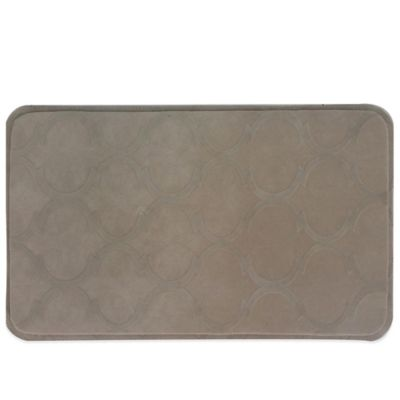 Sonoma Trellis 19.5-Inch x 31.5-Inch Anti-Fatigue Kitchen Mat in Taupe