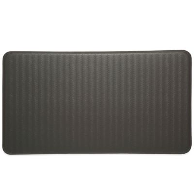 Imprint® Cumulus9™ 20-Inch x 36-Inch Chevron Series Comfort Mat in Steel Grey