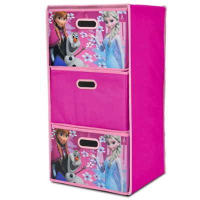 Disney® Frozen Collapsible 3-Drawer Storage Organizer