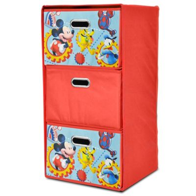 Disney® Mickey Collapsible 3-Drawer Storage Tower