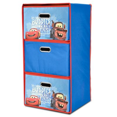 Disney® Cars Collapsible 3-Drawer Storage Tower