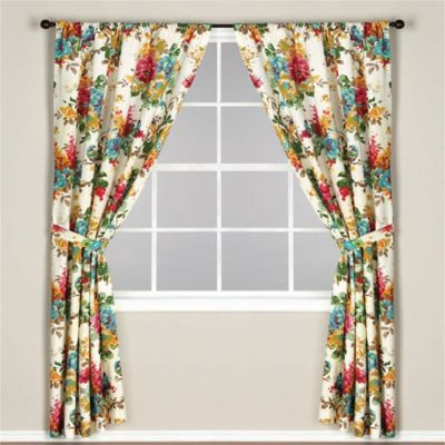 World Market® Ornothology Lined Rod Pocket 63-Inch Window Curtain Panel