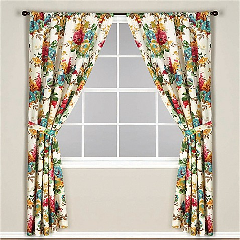 Double Curtains For Living Room Thermal Rod Pocket Curtains