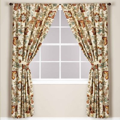 World Market® Malli Lined Rod Pocket 84-Inch Window Curtain Panel