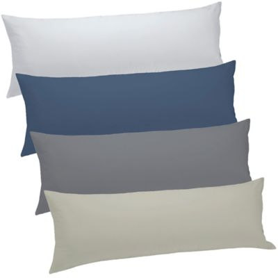 Blue Bed Pillow Cover