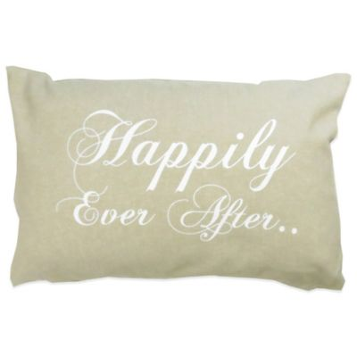 Happily Ever After Throw Pillow Home Decor