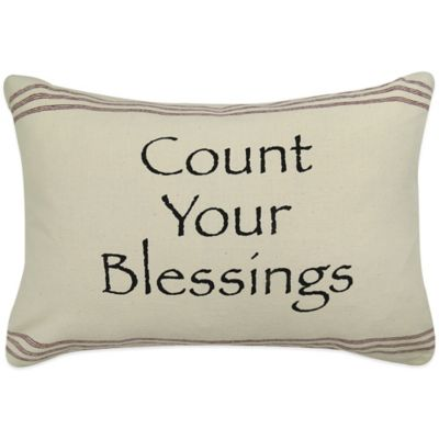 Park Blessings Oblong Throw Pillow