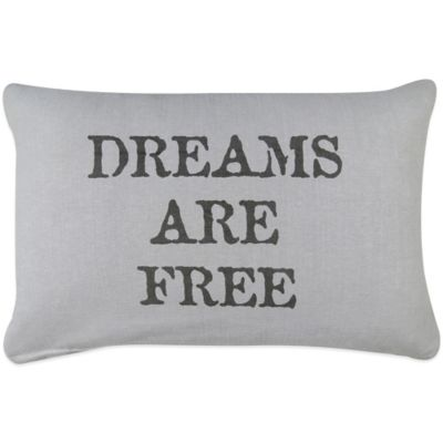 "The Vintage House by Park B. Smith® ""Free Dreams"" Oblong Throw Pillow"