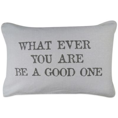 "The Vintage House by Park B. Smith® ""Good One"" Oblong Throw Pillow"