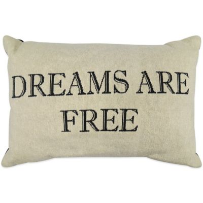 "The Vintage House by Park B. Smith® ""Free Dreams"" Tapestry Oblong Throw Pillow"