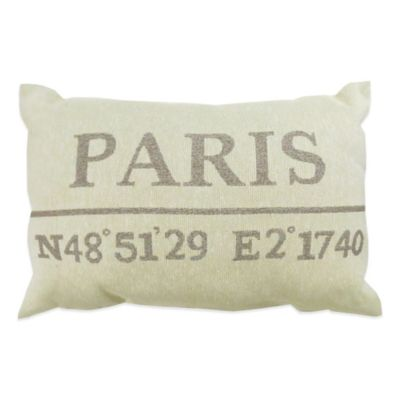The Vintage House by Park B. Smith® Paris Latitude Tapestry Throw Pillow