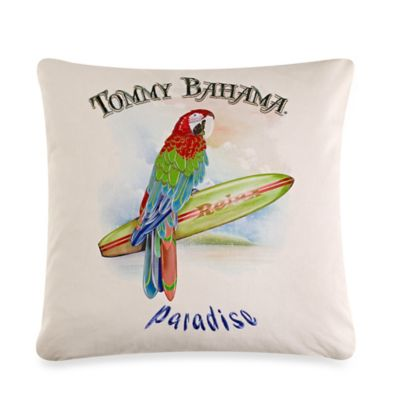 Tommy Bahama® Parrot Paradise Square Throw Pillow