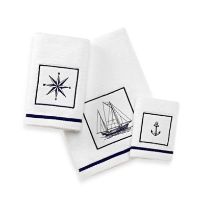 Nautical Theme Bath Towels