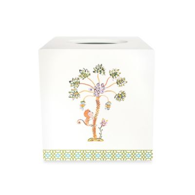Dena™ Home Monkey Boutique Tissue Box Cover