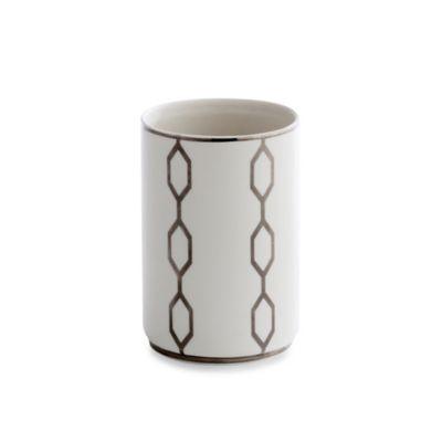 Kassatex Cadena Porcelain Tumbler