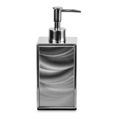 Silver Lotion Dispenser