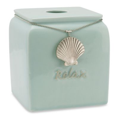 Coastal Charms Boutique Tissue Box Cover