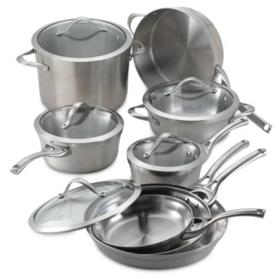 Metallic Glass Cookware Set