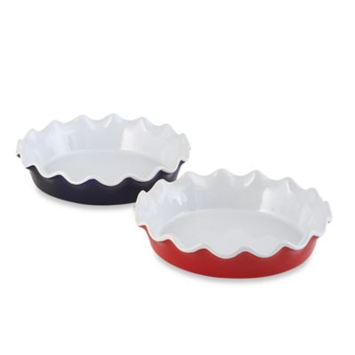Home Essentials & Beyond Brights 10-Inch Pie Dish in Red