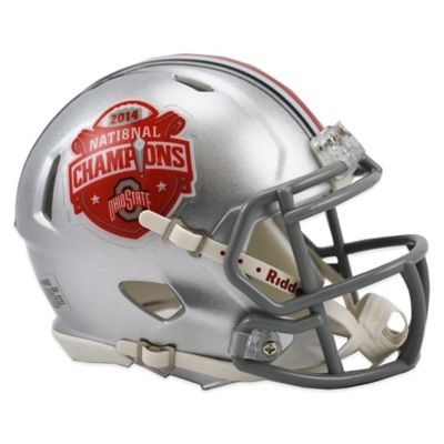 Riddell® Ohio State University Speed Mini 2014 National Champion Mini Helmet