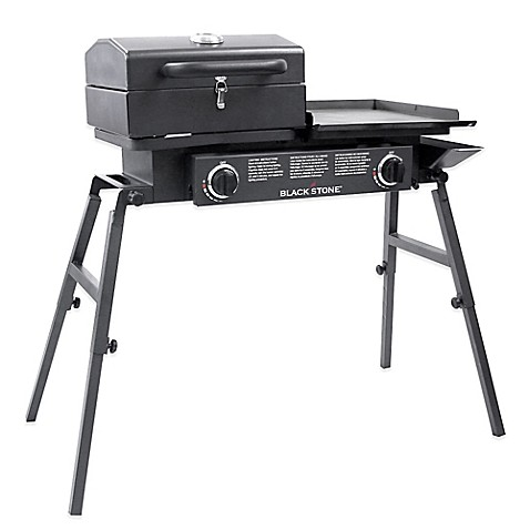 Blackstone 1555 tailgator combo gas grill and griddle for Blackstone griddle