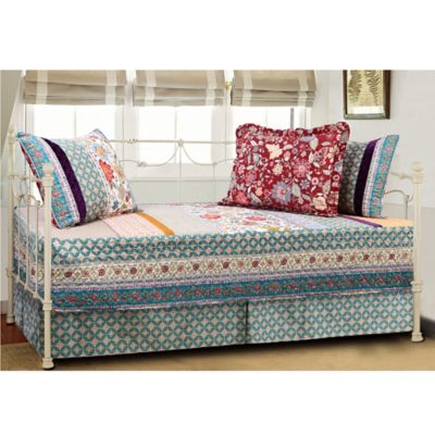 Geneva Quilted Reversible Daybed Set in Multi