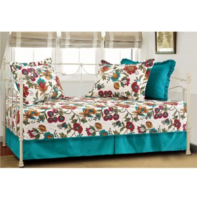 Red and Turquoise Bedding