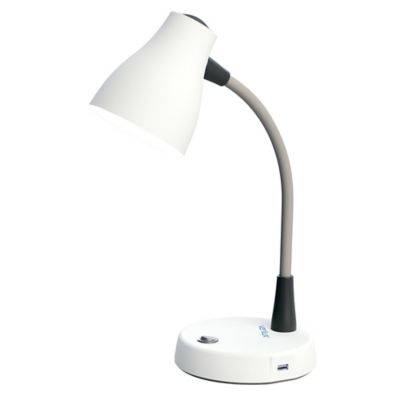 White Reading & Desk Lamps