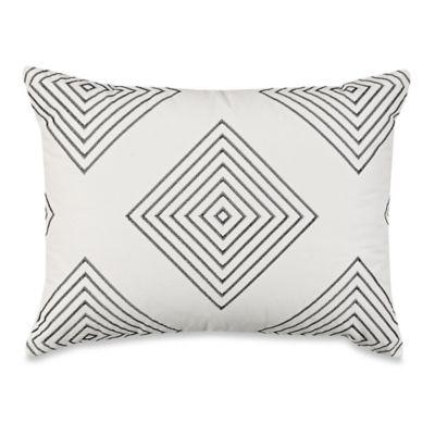 Wamsutta® Manhattan Oblong Throw Pillow in Cream
