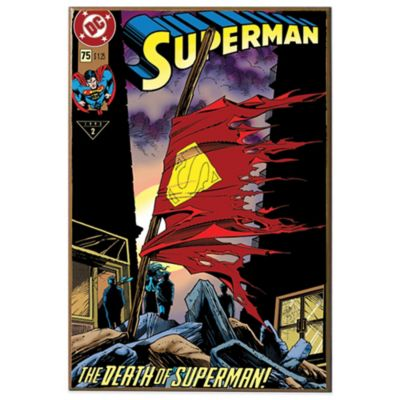 Death of Superman #75 Wall Décor Plaque