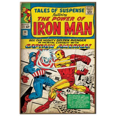 "Iron Man ""Tales of Suspense"" Wall Décor Plaque"