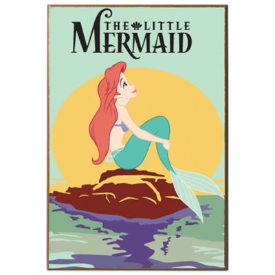 Disney The Little Mermaid Movie Poster Wall Décor Plaque