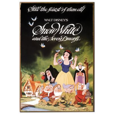 Disney Snow White Movie Poster Wall Décor Plaque