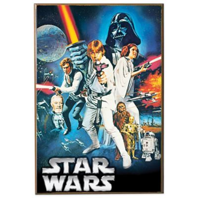 Star Wars Episode 4 Wall Décor Plaque