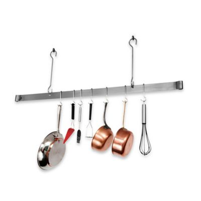 Enclume® 60-Inch Offset Hook Ceiling Bar Rack