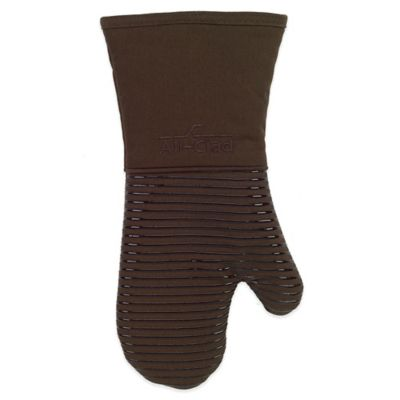 All-Clad Silicone Oven Mitt in Chocolate