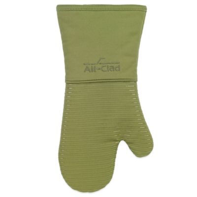All-Clad Silicone Oven Mitt in Sage