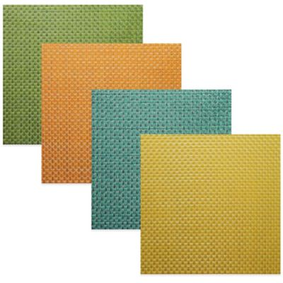 Bistro Woven Vinyl Placemat in Key Lime Pie