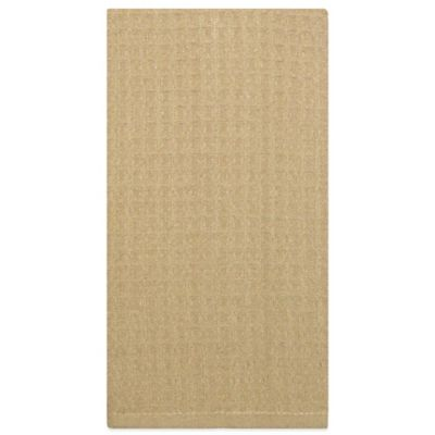 Waffle Microfiber Kitchen Towel in Tan
