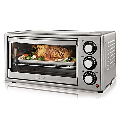 Convection Countertop Oven Stainless Steel : Oster? Brushed Stainless Steel Convection Countertop Oven - Bed Bath ...