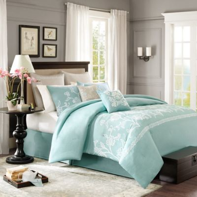 Harbor House™ Landon Full Comforter Set in Blue
